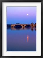 Framed St Benezet Bridge, Avignon