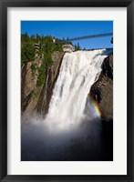 Framed Montmorency Falls, Quebec City