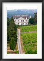Framed Chateau de la Coulee de Serrant, Loire Valley