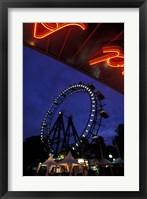 Framed Vienna Giant Ferris Wheel