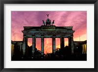 Framed Berlin Brandenburg Gate, Germany