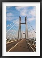 Framed Pont Tarascon Beaucaire Bridge, France