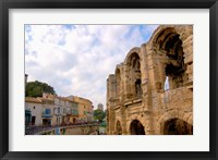Framed Roman Amphitheatre and Shops, Provence, France