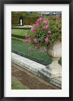 Framed Formal Gardens of Versailles, France