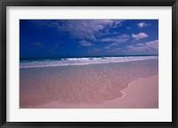 Framed Pink Sand Beach, Bahamas