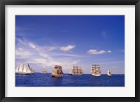 Framed Tall Ships Race in Nova Scotia