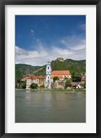 Framed Castle on Danube River