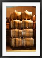 Framed Oak Barrels, Maison Giraud-Hemart