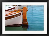 Framed Traditional Boat with Wooden Rudder