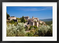 Framed Medieval Town of Gordes, Provence, France