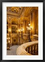 Framed Interior of Garnier Opera House