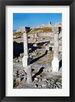 Framed Byllis Archeological Site