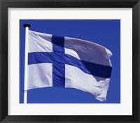Framed Finnish Flag, Finland