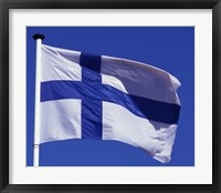 Framed Finnish Flag, Finland