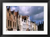 Framed Buildings in Bruges, Belgium