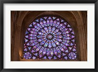 Framed Interior of Notre Dame Cathedral, Paris, France