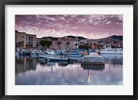 Framed Port Tino Rossi, France