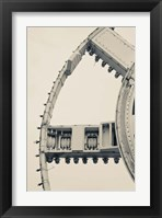 Framed English Channel Drilling Machine