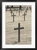 Framed Neuville St-Vaast, WWI German military cemetery, Pas de Calais, France