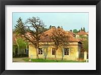 Framed House in Tokaj Village, Mad, Hungary