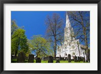 Framed Saint Mary's Cathedral Basilica
