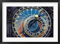 Framed Prague Astronomical clock
