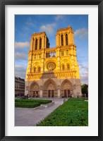 Framed Cathedral Notre Dame, Paris, France