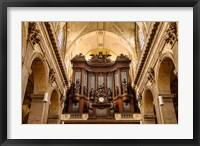 Framed Pipe Organ in Eglise Saint Sulpice
