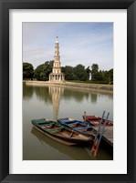 Framed Pagode de Chanteloup, Loire Valley France
