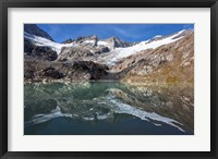 Framed Lake and Glacier Simonykees