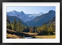 Framed Glacier Schlatenkees, Austria