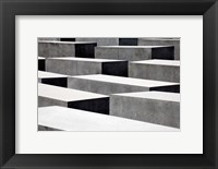 Framed Memorial to the Murdered Jews of Europe