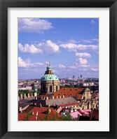 Framed St Nicholas Church, Czech Republic