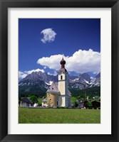 Framed Church at Going, Tyrol, Austria