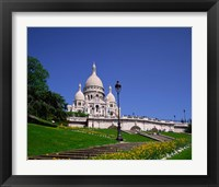 Framed Sacre Coeur, Montmartre, Paris, France