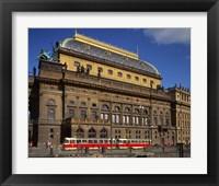 Framed National Theatre, Prague, Czech Republic
