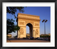 Framed Arc de Triomphe, Paris, France