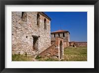 Framed Baba Vida Fortress, Bulgaria