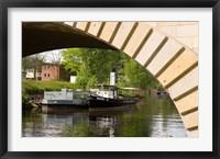 Framed Berlin Bridge in Germany