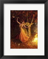 Framed Fire Dance