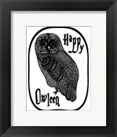 Framed Happy Owleen
