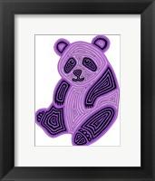 Framed Panda