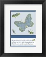 Framed Butterfly Print 2
