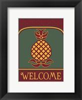 Framed Pineapple Banner