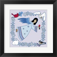 Winter Angel Framed Print