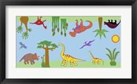 Framed Dino Rug