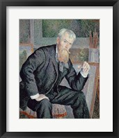 Framed Portrait Of The Painter Henri Edmond Cross, 1898