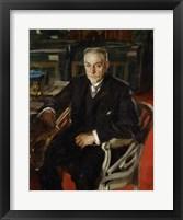 Framed Alfred Beurdely, 1906