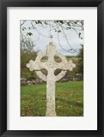 Framed Celtic Cross