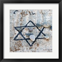 Framed Star of David